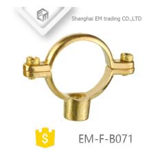 EM-F-B071 Brass hanging pipe clamp
