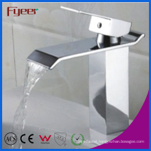 Fyeer Single Handle Waterfall Basin Faucet (Q3002)