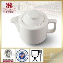 Nouvelle conception de café en porcelaine fine d'os, cafetière