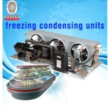 r22 r404a cooling compressor condenser unit monoblock refrigeration unit for superarket