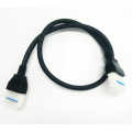 LED power circuits cables with power key housings