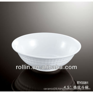 Chinese round crockery bowl, cereal bowl