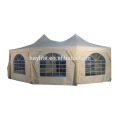Tente extérieure de tente de tente de pagode extérieure de PE ou PVC imperméable à l'eau