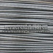 Construcción Aplicación y barra de acero de 5mm-12mm de diámetro deformada