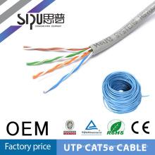 SIPU quente vender utp cat5e 4 pares lan cabos 24awg / 4p o preço de fábrica