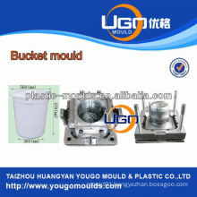 Rich experienced plastic bucket mould injection molding maker in China Taizhou