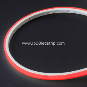 Factory Supplier for for China Manufacturer of Diffuser Strip Light, Led Strip Light Diffuser, Led Diffuser Strip Evenstrip IP68 Dotless 1012 RED Top Bend led strip light supply to Italy Manufacturers