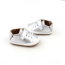 Breathable Glitter Newborn Walker Leder Babyschuhe