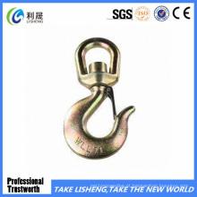 Boa qualidade aço pendurado gancho giratório