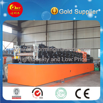 Flying Saw Cutting Z Shaped Purlin Production Line