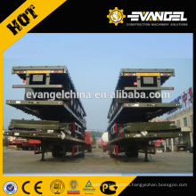 Heavy Duty Truck 70 ton Low Flatbed Semi Trailer Low Bed Truck Trailer Trucks And Trailers