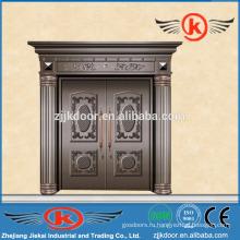 JK-C9024 используется наружная античная медная дверь с двухстворчатым распашным воротником