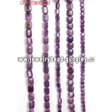 Natural kunzite gemstone beads