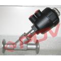Vannes de contrôle pneumatiques Vannes d'angle sanitaires