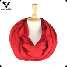 100%Acrylic Plain Pattern Pure Color Scarf Neck Warmer