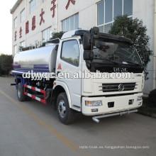 Camión del agua de la impulsión de la mano izquierda 6000L para la venta