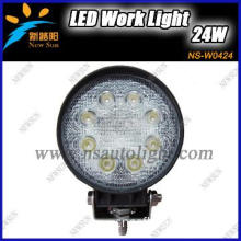 24W LED Working Light Spot Flood Lamp Motorcycle Tractor Truck Trailer