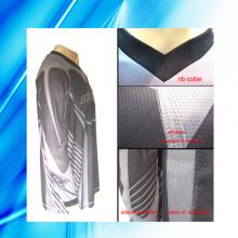 100% Polyester Man's Long Sleeve Motorrad Tragen