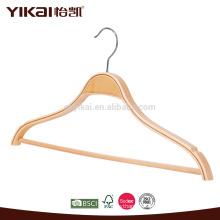Hotel Clohtes hanger Laminated wooden shirt hanger