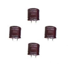 Snap in Aluminum Electrolytic Capacitor 105c Tmce18-21