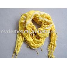 Вискоза мягкая крашение стрейч-шарф завод