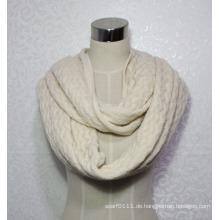 Damenmode Wellenmuster Acryl gestrickt Infinity Winter Schal (YKY4393)