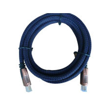 25 Foot Gold Plated Hdmi Cable 28 Awg Plastic Net With Rohs , Ce
