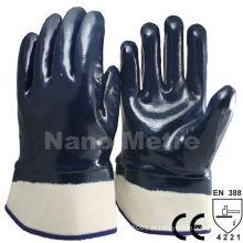 NMSAFETY 3 vezes mergulho nitrilo luva de segurança de equipamentos de proteção pessoal