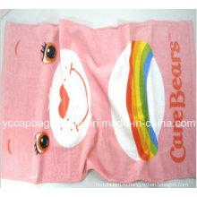100% хлопок Дети реактивные печатные пляжные полотенца
