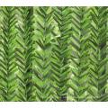 Plastic decorative garden artificial green fence for sale