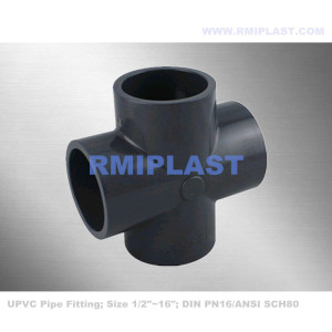 UPVC Cross Fitting DIN PN16