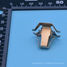Fabrication d'emboutissage en métal avec finition en palettes