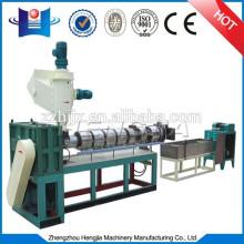 máquina de granulación residuos de plástico de doble etapa
