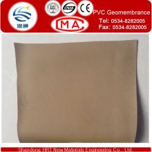 Geomembrana de refuerzo de PVC para revestimiento