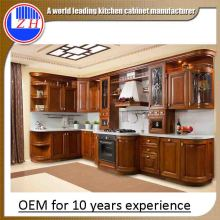 China Cheap PVC Kitchen Cabinets Hotel Project (customized)