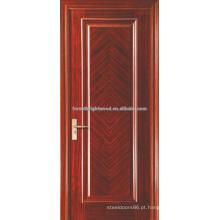 Carvalho pintado folheado levantou moldagem quarto Interior MDF portas