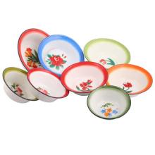 2015 High Qualityenamel Plate/Deep Plate/Bowls