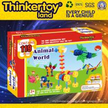 Venta al por mayor de plástico de educación de juguete de bricolaje para niños