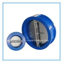 Válvula de retenção de Wafer com placa dupla de venda quente