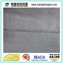 Tissu en fibre de coton pure et teintée de fil de bonne qualité (21S * 21s)