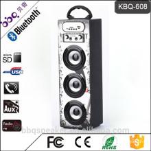 BBQ 15W 1200mAh battery 2016 newst Wooden portable kids karaoke bluetooth speaker outdoor
