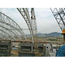 Good Quality Truss Building Welded by Circle Tube