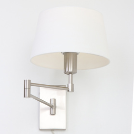 Hotel Swing arm wall lamp