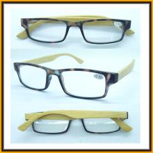 R1515 Templo de bambú por mayor alta calidad claro marco de gafas de lectura
