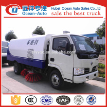 DFAC 4x2 high quality and good price of road sweeper truck for sale