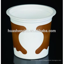 Factory Price Food Grade Clear Plastic Round 10oz/315ml Disposable Milkshake Cup
