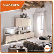 O mais novo armário de TV de madeira maciça de venda quente