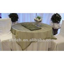 mantel del poliester del 100%, cubiertas de tabla de visa, ropa de mesa