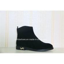 Elegant Fashion Design Lady Leather Boot