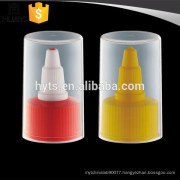 nozzle plastic spout cap with transparent whole cap